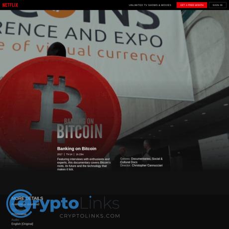 Netflix Filmas Apie Bitcoin « Užsidirbk pinigų su bitcoinais, Apiplim prekybininkas bitkoinais