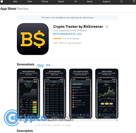 Ios app to track cryptocurrency