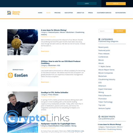 cryptocurrency mining blogs