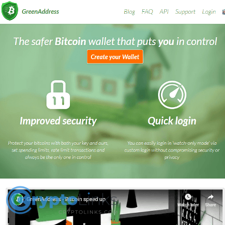 GreenAddress Bitcoin Wallet - Greenaddress.it ...