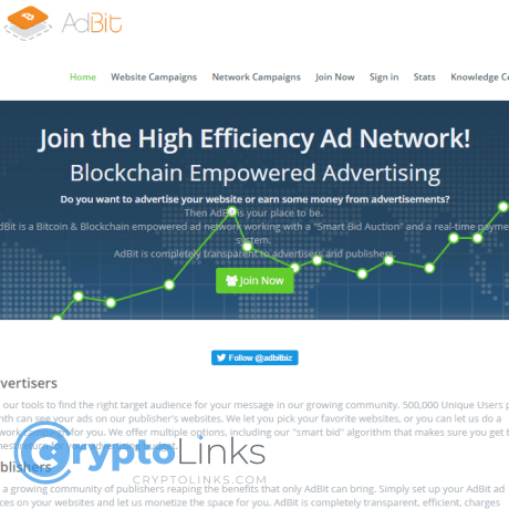 cryptocurrency ad networks