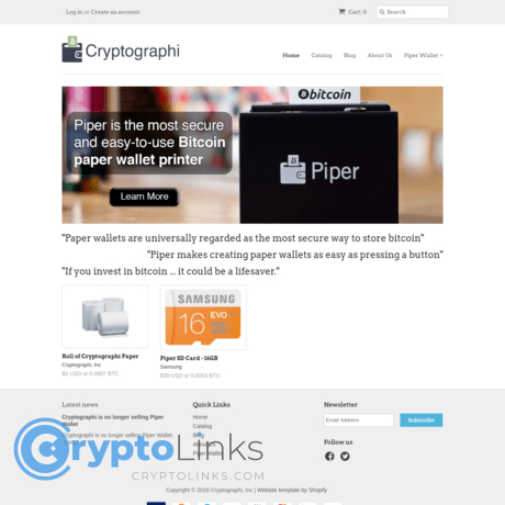 How to use paper wallet for cryptocurrency