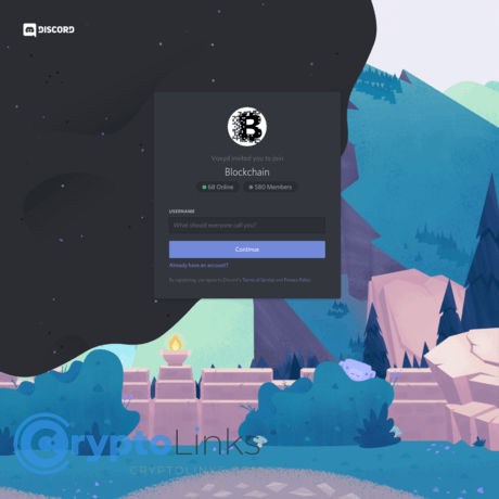 List of cryptocurrency discord serves