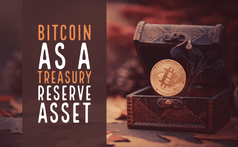 Bitcoin as a Treasury Reserve Asset